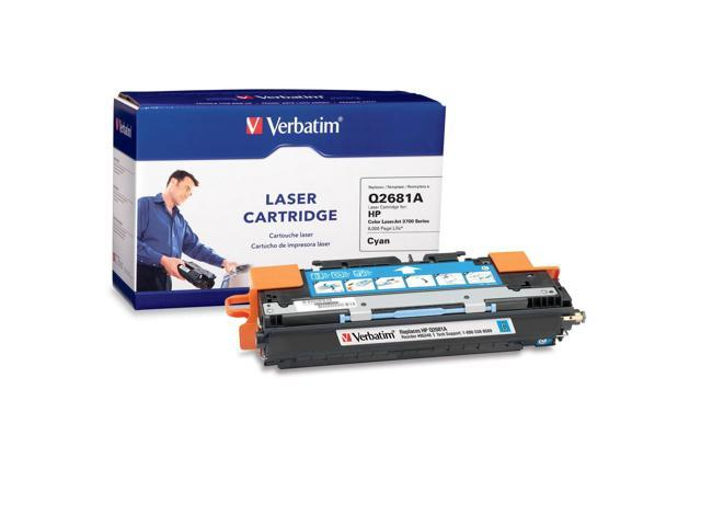 Verbatim 95348 Cyan Laser Cartridge for HP LaserJet 3700 Series
