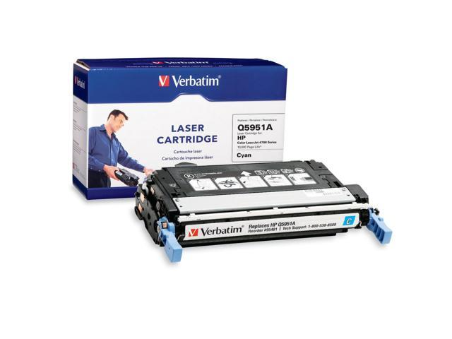 Verbatim 95481 Cyan Cartridge For HP Color LaserJet 4700 Series