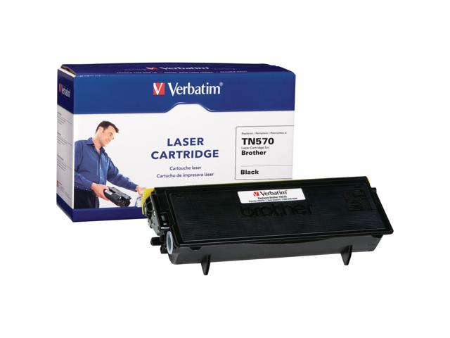 Verbatim 96001 Black Brother TN570 Replacement Laser Cartridge