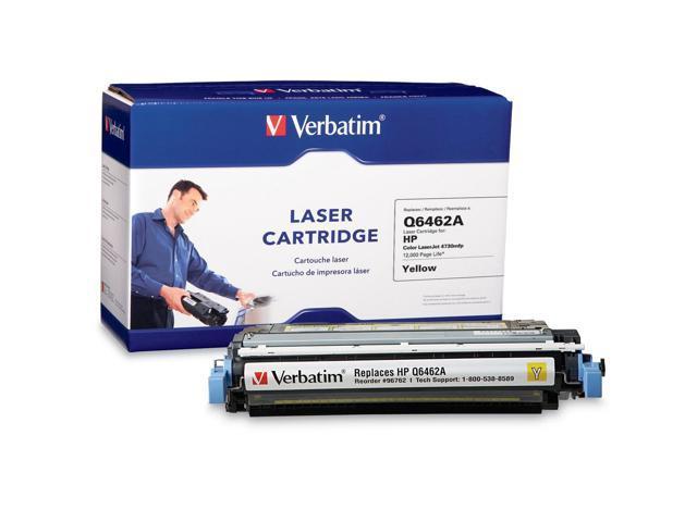 Verbatim 96762 Yellow HP Q6462A Replacement Laser Cartridge
