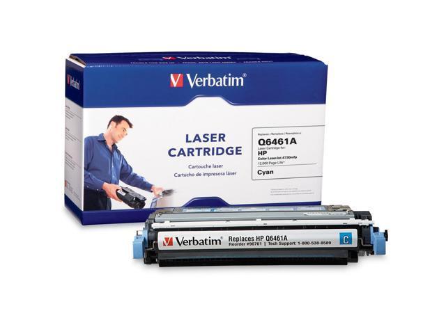 Verbatim HP Q6461A Compatible Cyan Toner (4730mfp)