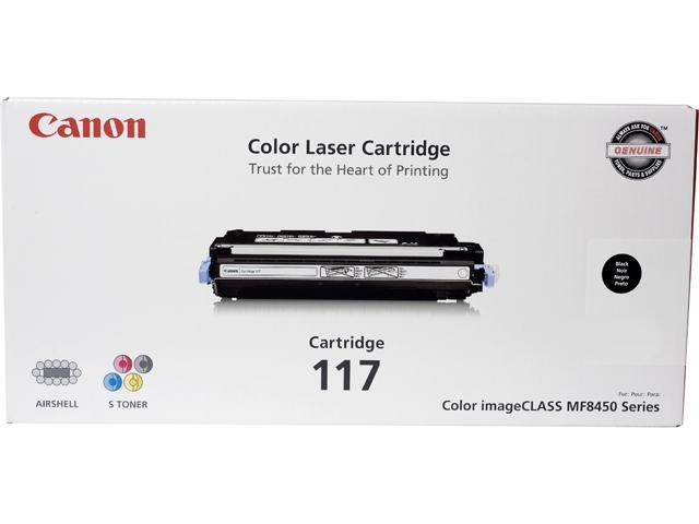 Canon CRG 117 Black, Cartridge 117 (2578B001) CRG-117 Black Laser Toner Cartridge Black