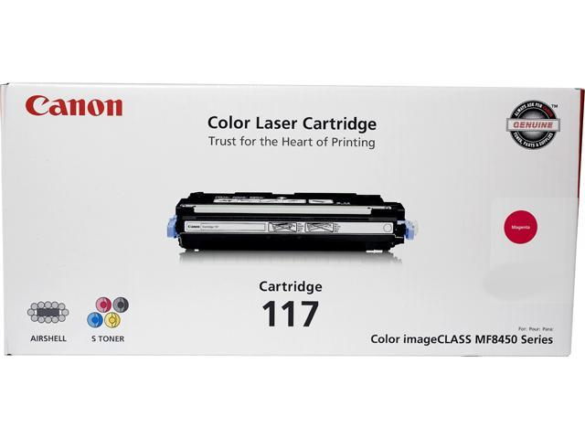 Canon CRG 117 Magenta, Cartridge 117 (2576B001) CRG-117 Magenta Toner Cartridge Magenta