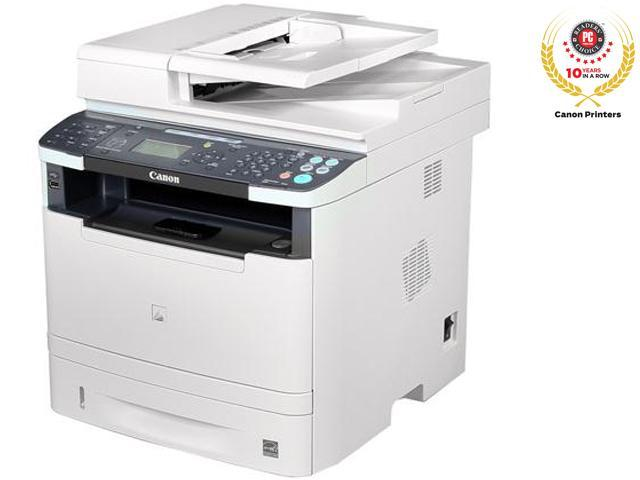 Canon imageCLASS MF5960dn Black: Up to 17 ppm (2-sided, plain paper letter)10 Black: Up to 35 ppm (1-sided, plain paper letter)10 Monochrome Laser Printer