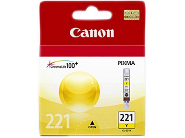 Canon CLI-221 Ink Cartridge Yellow