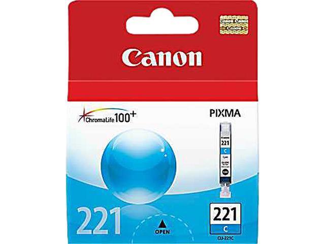 Canon CLI-221 Ink Cartridge Cyan