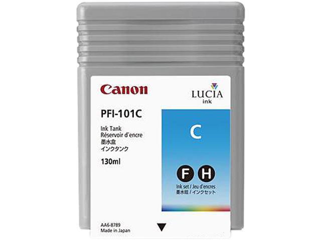 Canon PFI 101 Ink Tank Cyan