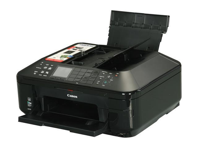 Canon PIXMA MX892 Up to 12.5 ipm (ESAT) Black Print Speed 9600 x 2400 dpi Color Print Quality Wireless LAN (IEEE 802.11b/g/n) InkJet MFP Color Printer