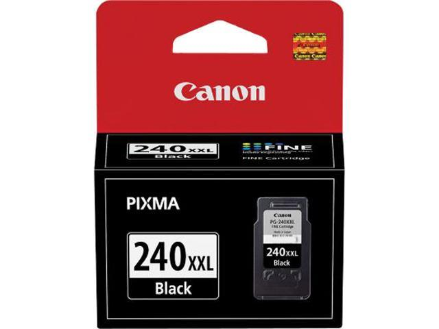 Canon PG-240 XXL Extra High Yield Black Ink Cartridge; 1 Black (5204B001)