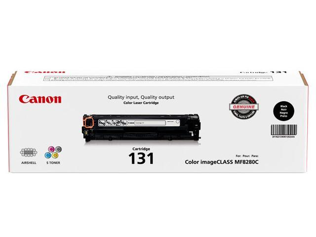Canon 131 Toner Cartridge (6272B001) 1,400 Page Yield for LBP-7110 cw, MF8280; Black