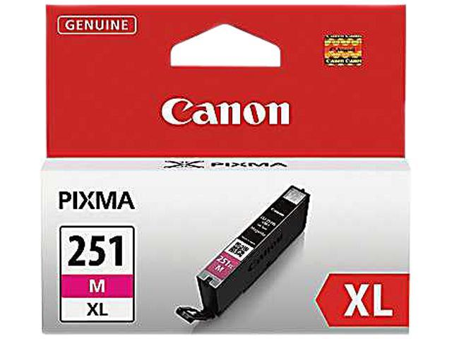 Canon CLI-251M XL Ink tank High Yield; Magenta (6450B001)