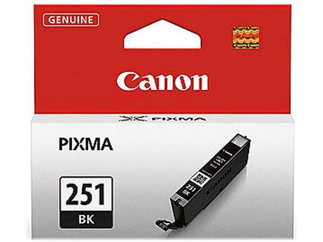 Canon CLI-251 BK Ink Cartridge; 1 Black (6513B001)