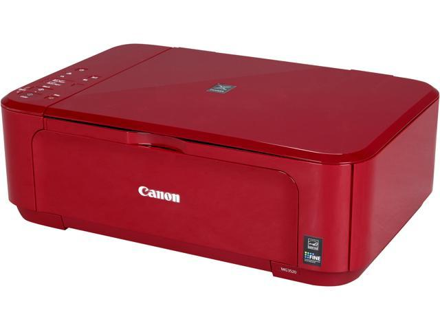 Canon MG3520 (Red) Wireless Color Inkjet Printer