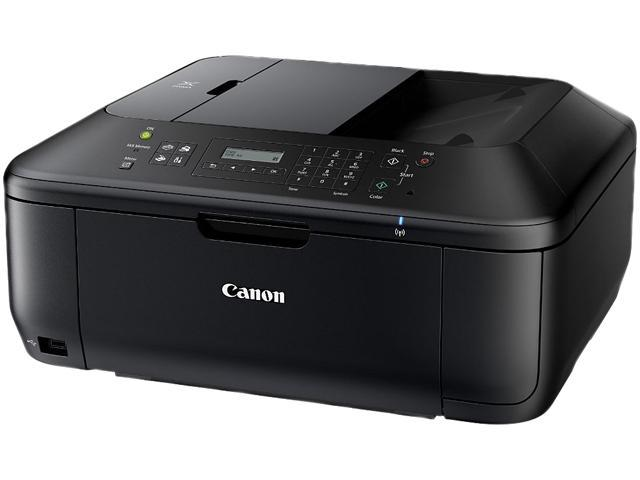 Canon MX532 8750B003 ESAT: Approx. 9.7 ipm Black Print Speed 4800 x 1200 dpi Color Print Quality InkJet Color Wireless All-In-One Inkjet Printer