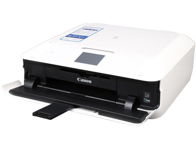 Canon PIXMA MG7520 (White) Wireless Color Multifunction Inkjet Printer