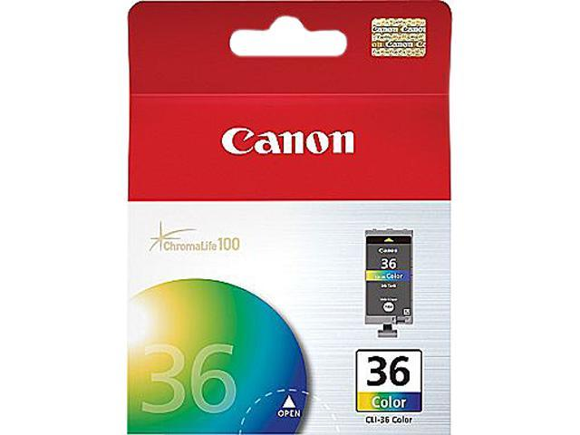 Canon CLI-36 (1511B002-K) Ink Cartridge; Color