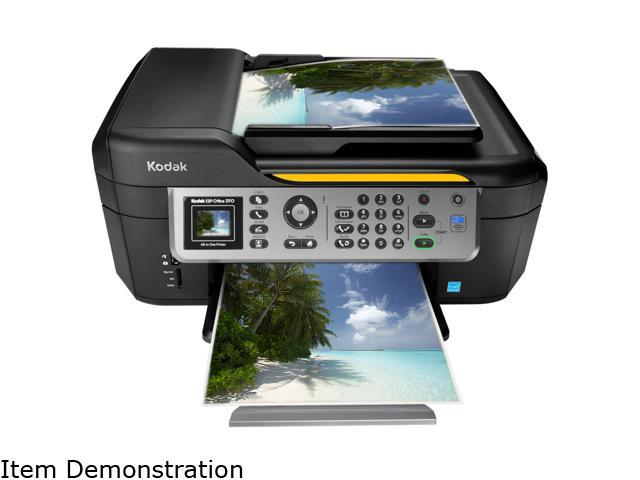 Kodak ESP Office 2170 8294548 6 ipm Black Print Speed 4800 optimized DPI Color Print Quality Wireless InkJet MFC / All-In-One Color Printer