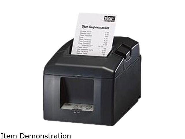 Star Micronics TSP650 TSP654C-24 GRY 39448310 Thermal Receipt Printer (Gray) - Parallel Interface, Auto-Cutter. Cable and Power Supply not included