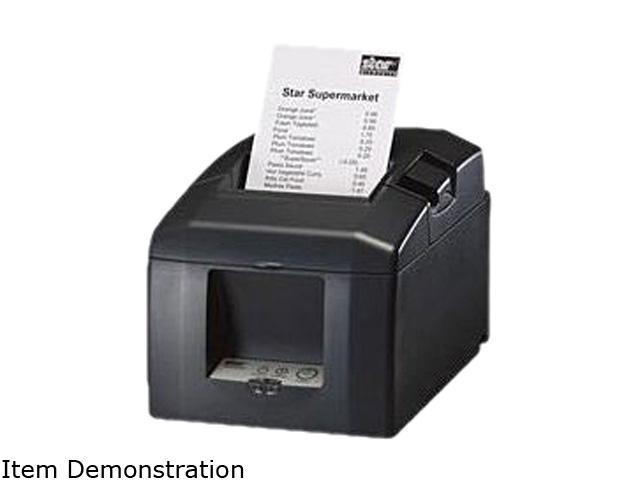 Star Micronics TSP650 TSP651L-24 GRY 37999500 Thermal Receipt Printer (Gray) - Ethernet Interface, Tear Bar. Cable and Power Supply not included