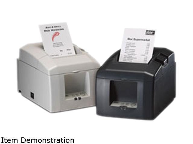 Star Micronics TSP650 TSP651L-24 37999490 Thermal Receipt Printer (Putty) - Ethernet Interface, Tear Bar. Cable and Power Supply not included