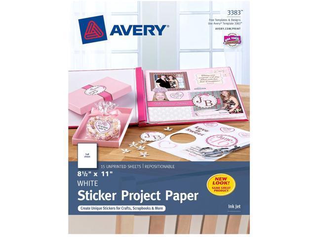 Avery 3383 Paper