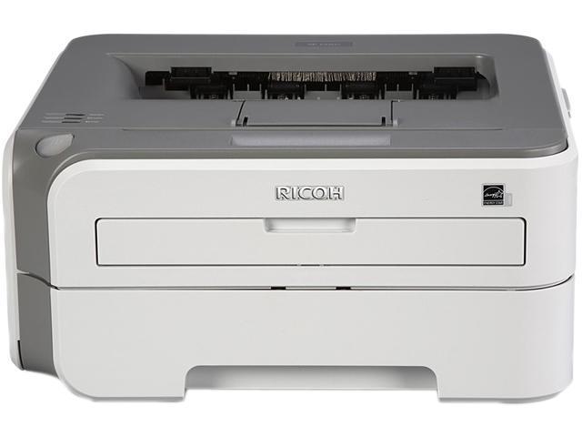 Ricoh Aficio SP 1210N Laser Printer - Monochrome - 2400 x 600 dpi Print - Plain Paper Print - Desktop