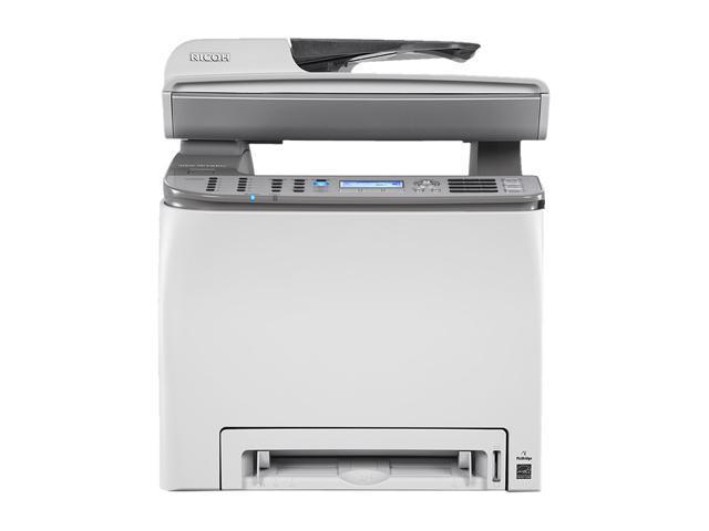 RICOH Aficio SP Series C240SF Workgroup Up to 16 ppm 2400 x 600 dpi Color Print Quality Color Laser Printer