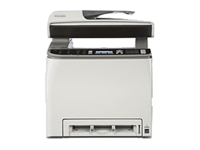 RICOH Aficio SP Series C242SF MFC / All-In-One Up to 21 ppm 2400 x 600 dpi Color Print Quality Color Laser Printer