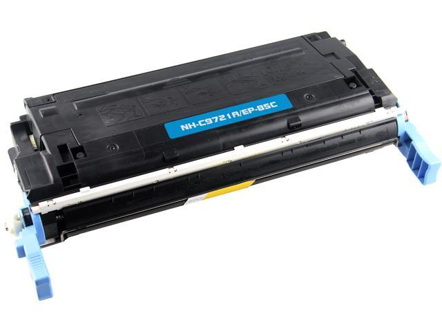 Rosewill RTCS-EP85C Cyan Toner Cartridge Replaces Canon EP-85C, C9721A