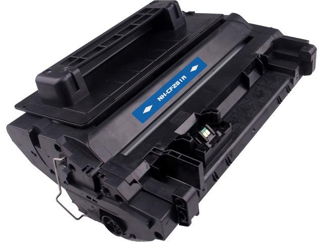 Rosewill RTCS-CF281A Black Toner Cartridge Replace HP CF281A, 81A