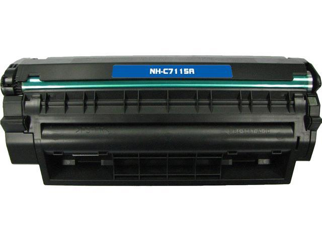 Rosewill RTCS-C7115A Black Toner Cartridge Replace HPC7115A, 15A