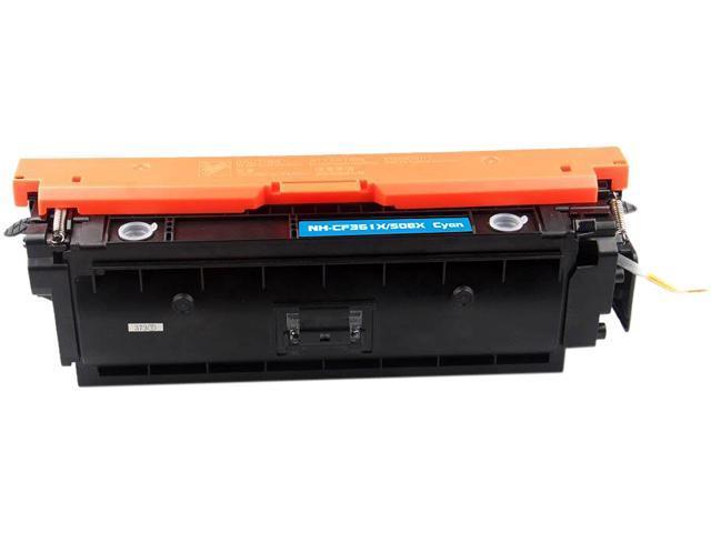 Rosewill RTCS-CF361X Cyan Toner Cartridge Replace HP 508X Cyan, CF361X