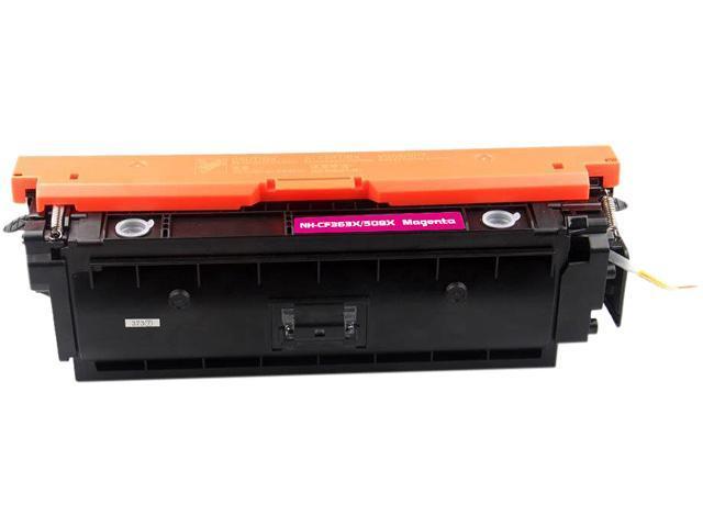 Rosewill RTCS-CF363X Magenta Toner Cartridge Replace HP 508X Magenta, CF363X