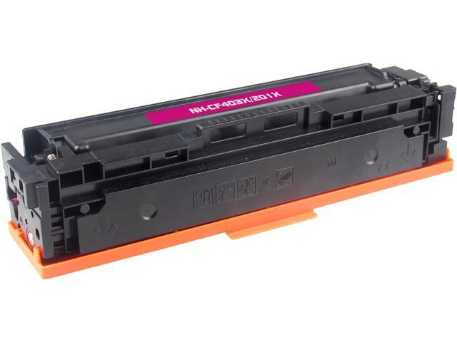 Rosewill RTCS-CF403X Magenta Toner Cartridge Replace HP CF403X, 201X Magenta
