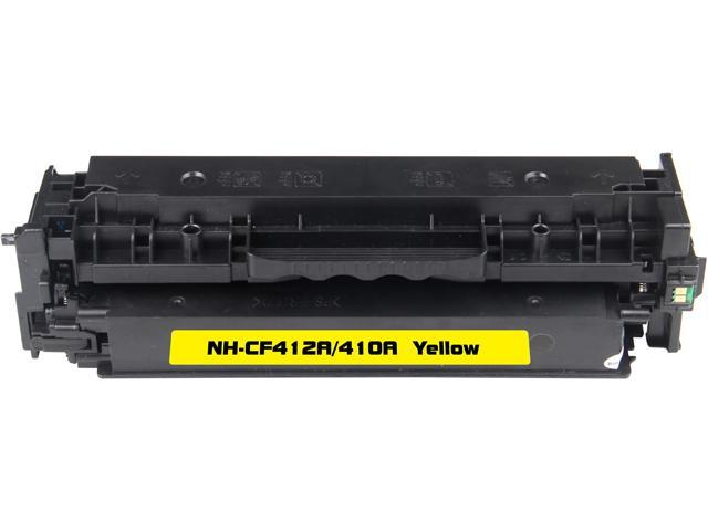 Rosewill RTCS-CF412A Yellow Toner Cartridge Replace HP CF412A, 410A