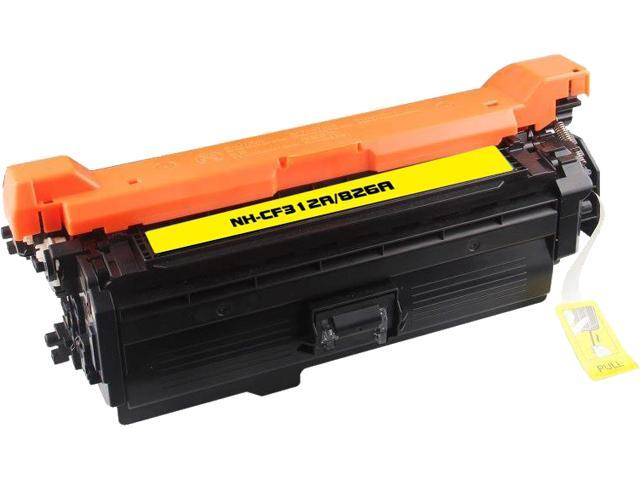 Rosewill RTCS-CF312A Yellow Toner Cartridge Replace HP CF312A/826A Yellow