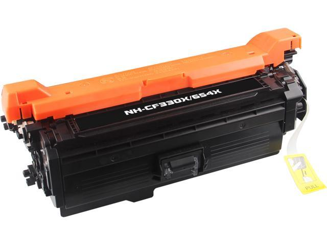Rosewill RTCS-CF330X Black Toner Cartridge Replace HP CF330X, 654X High Yield Black