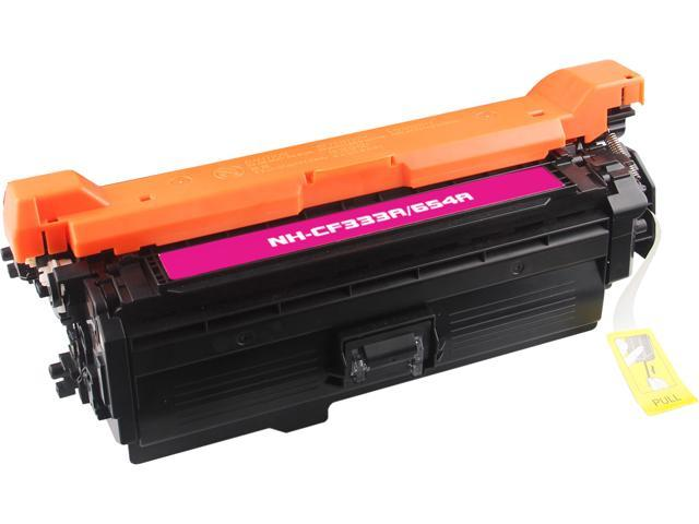 Rosewill RTCS-CF333A Magenta Toner Cartridge Replace HP CF333A, 654A Magenta