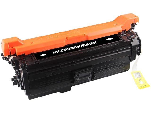 Rosewill RTCS-CF320X Black Toner Cartridge Replace HP CF320X, 653X Black, High Yield