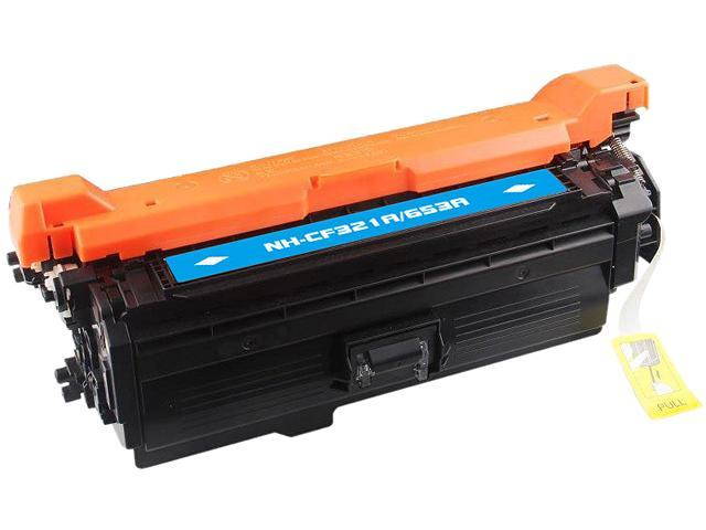 Rosewill RTCS-CF321A Cyan Toner Cartridge Replace HP CF321A, 653A Cyan
