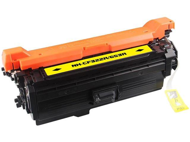 Rosewill RTCS-CF322A Yellow Toner Cartridge Replace HP CF322A, 653A Yellow