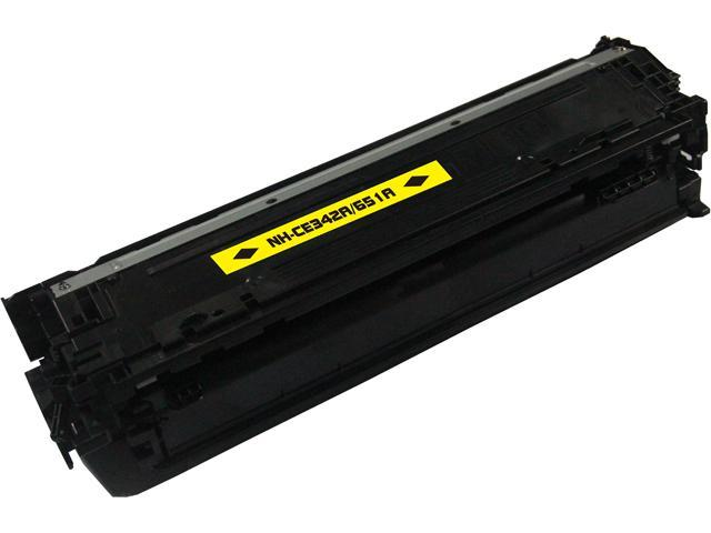 Rosewill RTCS-CE342A Yellow Toner Cartridge Replace HP CE342A, 651A Yellow