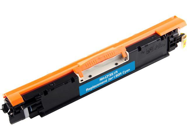 Rosewill RTCS-CF351A Cyan Toner Cartridge Replace HP 130A Cyan, CF351A
