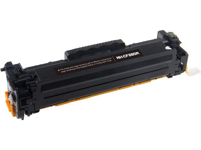 Rosewill RTCS-CF380A Black Toner Cartridge Replace HP CF380A, 312A BK