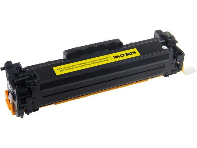 Rosewill RTCS-CF382A Yellow Toner Cartridge Replace HP CF382A, 312A Yellow