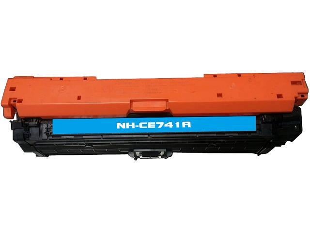Rosewill RTCS-CE741A Cyan Toner Cartridge Replace HP CE741A, 307A Cyan