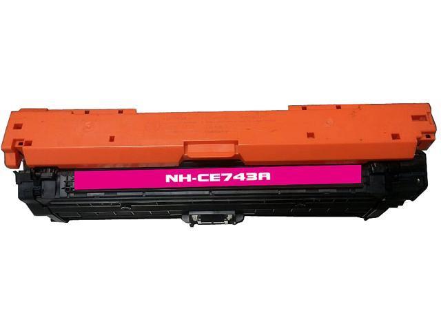 Rosewill RTCS-CE743A Magenta Toner Cartridge Replace HP CE743A, 307A Magenta