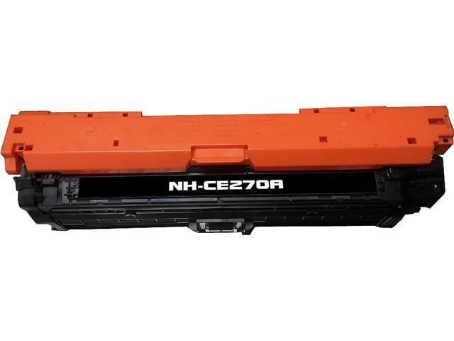 Rosewill RTCS-CE270A Black Toner Cartridge Replace HP CE270A, 650A Black