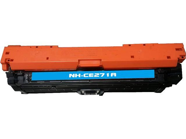 Rosewill RTCS-CE271A Cyan Toner Cartridge Replace HP CE271A, 650A Cyan