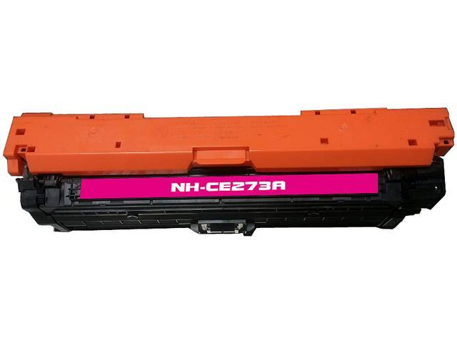 Rosewill RTCS-CE273A Magenta Toner Cartridge Replace HP CE273A, 650A Magenta